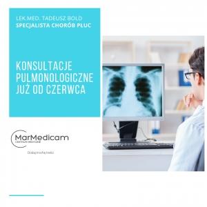Konsultacje pulmonologiczne w dobie koronawirusa